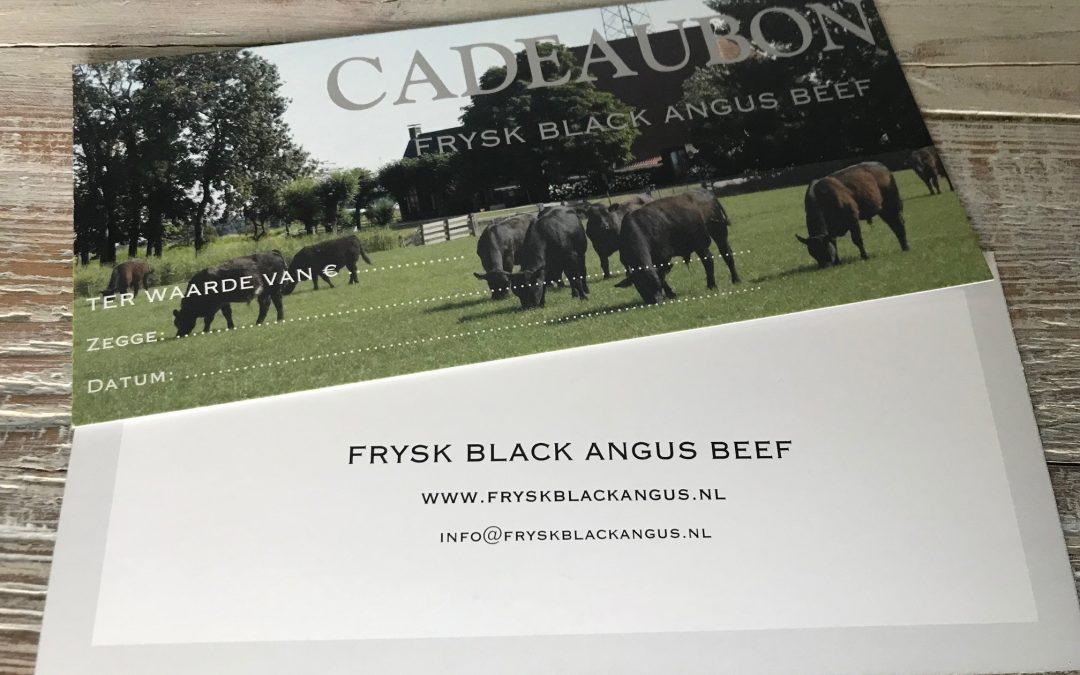 *NIEUW bij Frysk Black Angus: De Cadeaubon!*